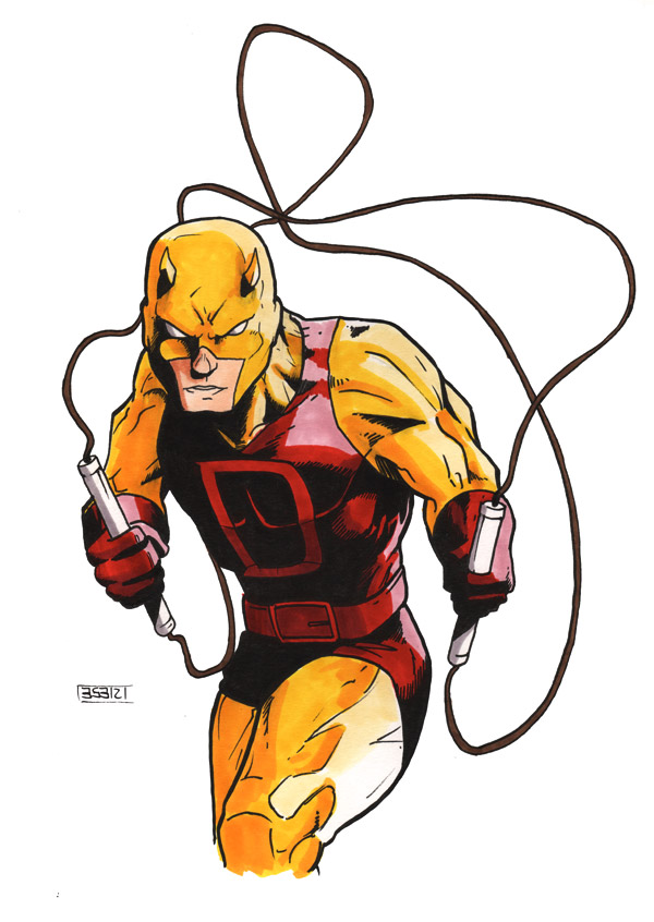 Daredevil Yellow Costume