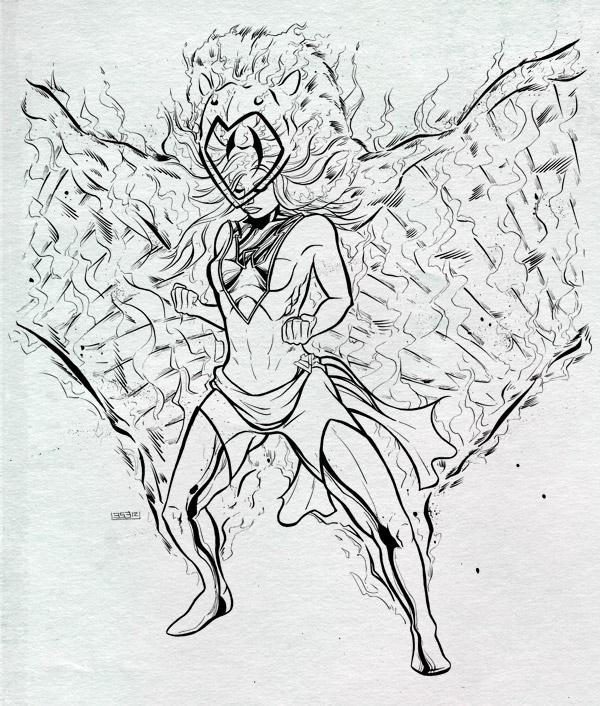 White Phoenix Inks